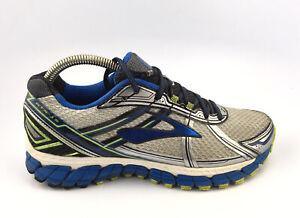 Brooks-Adrenaline-GTS-15-Running-Shoes-Gray-Blue-1101811D168-Men-s-sz-9-M
