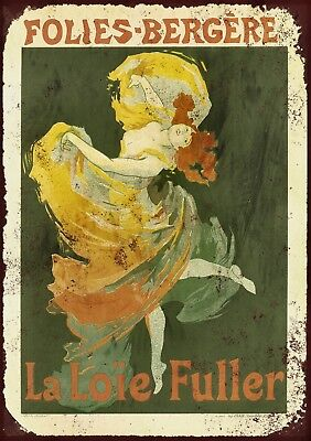 """French Dubonnet 10x8/"""" Retro Aged Vintage Metal Advertising Sign Wall Art Pic"""