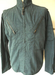 Image is loading ALPHA-Mens-Summer-Casual-Jacket-Colour-Petrol-Sizes- a1fff3f506415