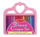 Melissa & Doug Girls Princess Crayon Art Set Mnd4155