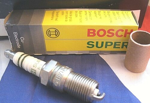 Un nouvel ensemble de 4 H7DC Genuine coffret Bosch super Spark Plugs 0241235636-740.