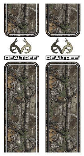 Camowraps 5002XT 10  x 40  Realtree Logo Bed Band Set with Realtree Xtra Pattern
