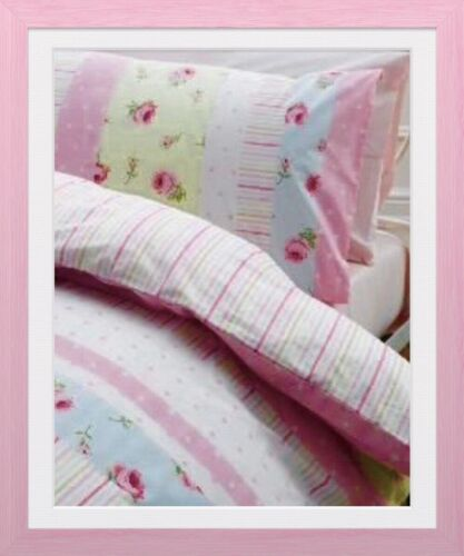DUVET COVER SINGLE  ROSES  ASHLEY STYLE LITTLE GIRLS SHABBY CHIC SO BEAUTIFUL