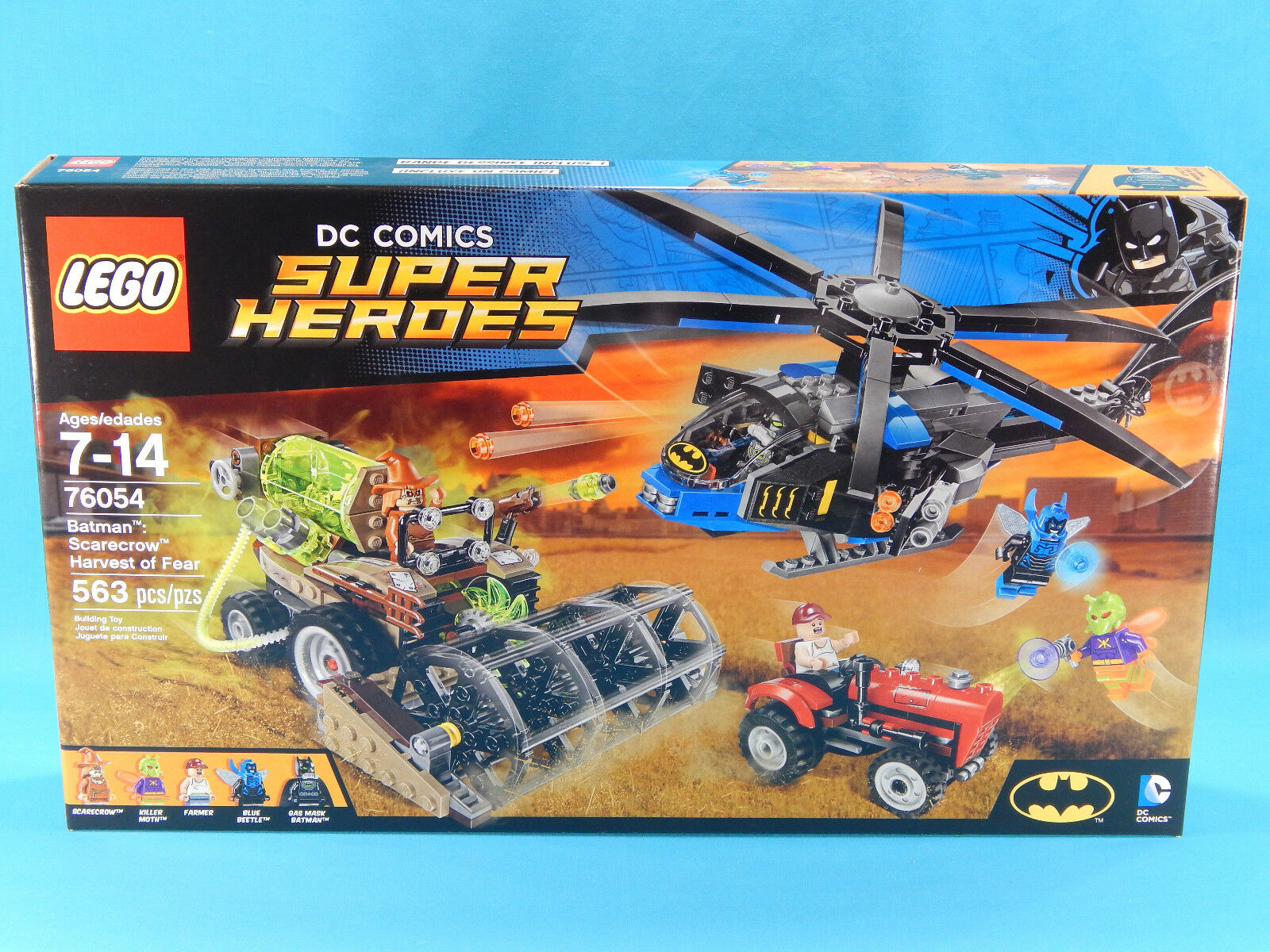 Lego Super Heroes 76054 Batman: Scarecrow Harvest of Fear 563pcs Nuovo Sealed 2016