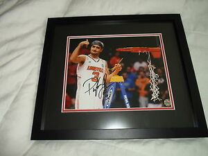 Peyton-Siva-Louisville-Cardinals-2012-13-Autographed-Auto-039-d-8x10-Framed-Photo