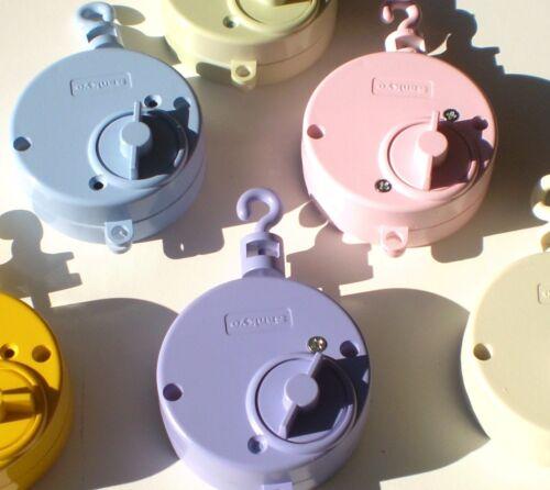 Spinner Gray Crib Mobile Kit Many Children Songs Sankyo Hanger and Arm Song