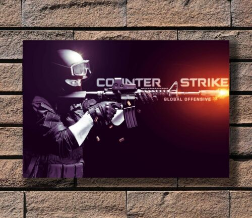 counter strike global T-721 Art Poster 24x36 27x40