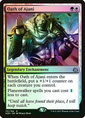Oath Of Ajani Foil Aether Revolt Pld-sp White Green Rare Magic Mtg Card Abugames Aangenaam In De Nasmaak