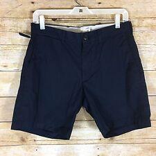 NWT Club Monaco Men's Maddox Shorts Size 30 - Navy Blue FLAW