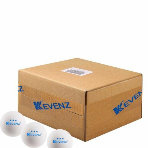 Kevenz 60-Pack 3-Star 40 Advanced Ping Pong Balle Balles de tennis de table