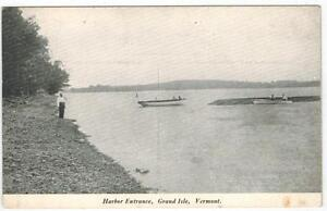 Harbor-Entrance-Grand-Isle-Vermont-People-amp-Boats-on-the-Shoreline