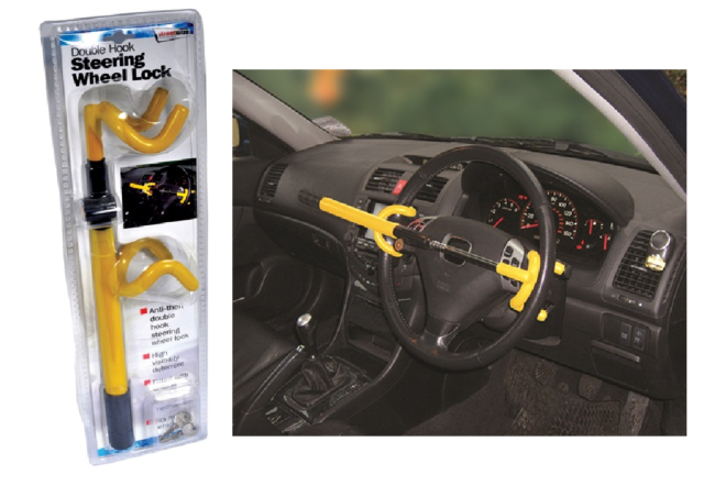 Stoplock Pro Steering Wheel Lock Professional Clamp Ideal For BMW 1 Series