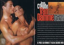 COUPURE DE PRESSE CLIPPING 1998 JEAN CLAUDE VAN DAMME  (4 pages)