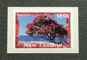 1996-New-Zealand-Tree-Pohutukawa-Airpost-Self-Adhesive-1v-Stamp-Mint-NH