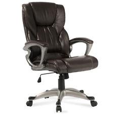 Ergonomic Desk Task Office Chair High Back Executive Computer New Style Mocha