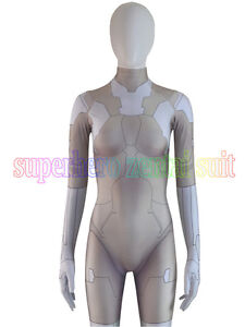 Ghost In The Shell Suit Spandex Cosplay Superhero Costume Major Cosplay Suit Ebay