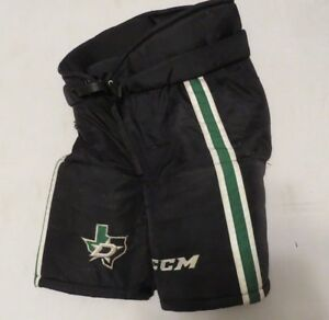 Used-CCM-HP70-Pro-Stock-Dallas-Stars-Hockey-Pants-Game-Used-Size-Large-MeiGray