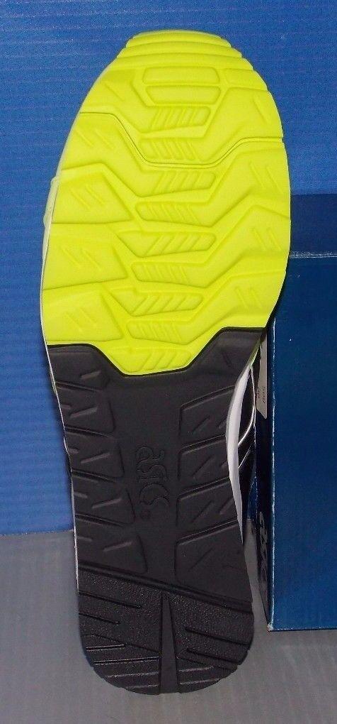 Uomo asics gel farben lyte geschwindigkeit in den farben gel gelb / schwarz größe 9,5 sicherheit be8088