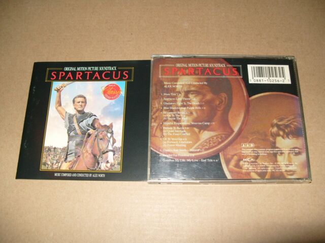 Spartacus (Original Soundtrack, 1991 cd + Inlays Excellent condition (C27)