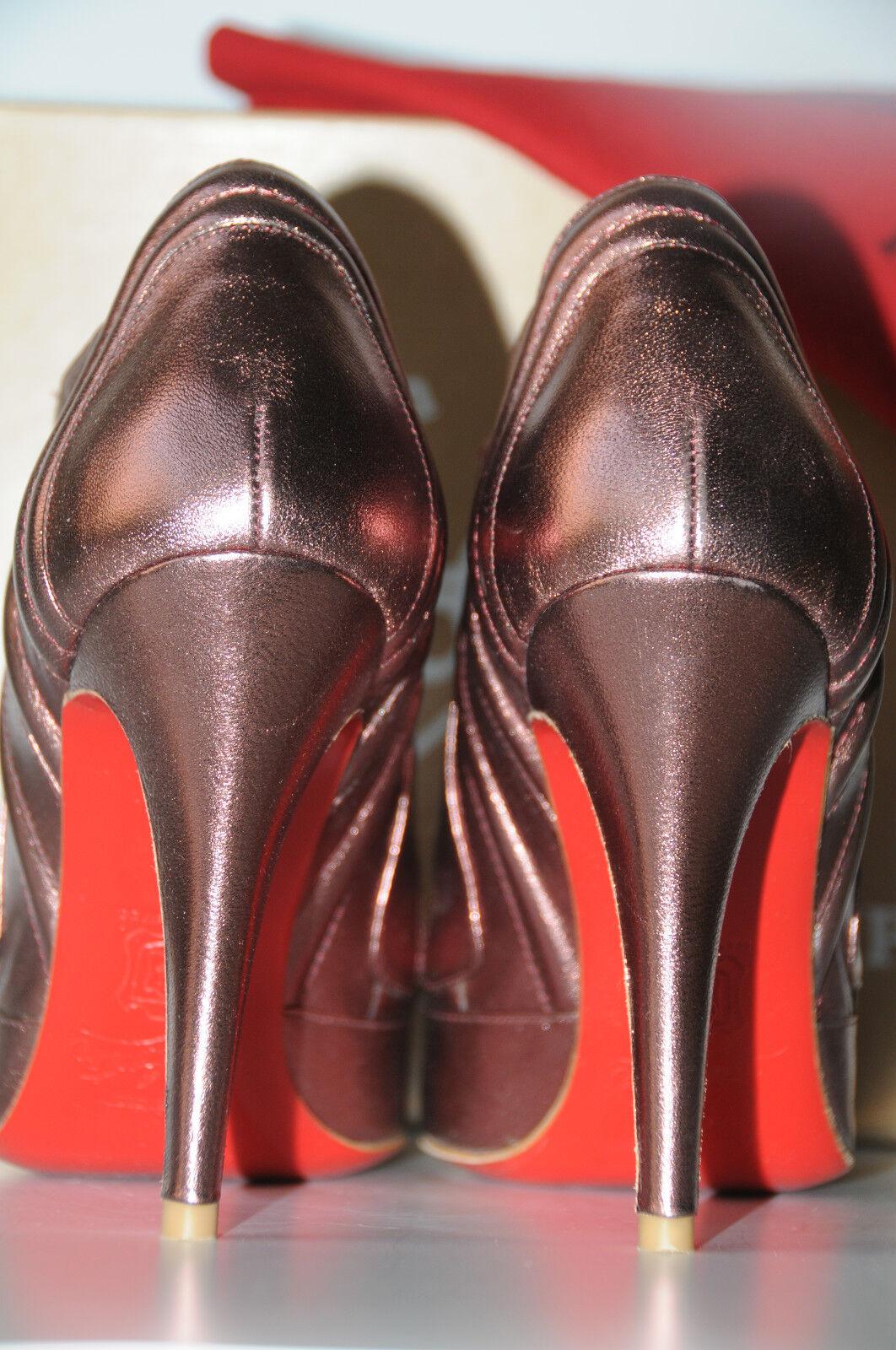 1125 New CHRISTIAN LOUBOUTIN LOUBOUTIN LOUBOUTIN SIGOURNEY Rosa MAUVE lila schuhe Stiefel 39 8.5 69f780