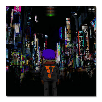 Lil Uzi Vert Luv Is Rage 1.5 Album Hip Hop Rap Art Silk Canvas Poster 24x24 inch