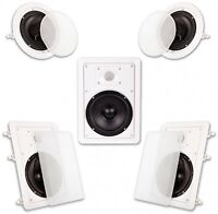 Acoustic Audio Ht-65 5.1 Home Theater Speaker System (white)