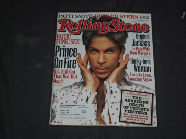 2004 MAY 27 ROLLING STONE MAGAZINE - PRINCE COVER - CW 1122