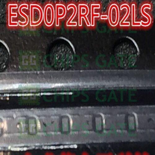 15PCS ESD0P2RF-02LS E6327 DIODE ESD PROT 20KV TSSLP-2-1 ESD0P2RF-02LSE6327 E