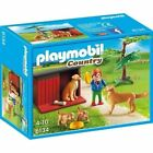 PLAYMOBIL Country Golden Retrievers With Toy Pmb6134