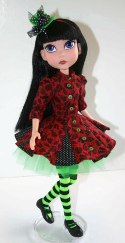 """Flirty Doll Clothes Sewing Pattern for 15.25/"""" Maudlyne Macabre Dolls Tonner"""