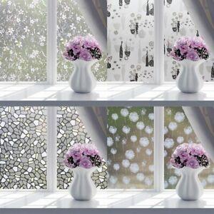 100-cm-Fensterfolie-Statische-Sichtschutzfolie-Milchglasfolie-DE-xk-D-E