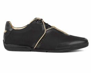7b6776d8ff3 Hugo Boss Saturn Low Tech2 50397650 002 Mens Trainers Black Sneakers ...
