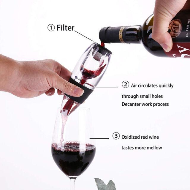 Wholesale Acrylic Spout 1PC Accessories Wine Pourer Aerator Decanter Portable