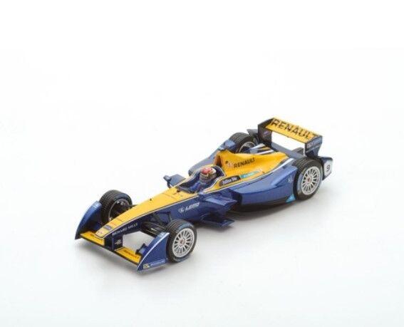 43FE02 SPARK 1:43 Renault e.dams  9 Champion Season 2 2015-2016 Sebastien Buemi