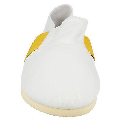 Lona Mens resbalón en Casual de Verano Plimsole Zapatos A1072