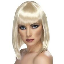 Ladies 80s 1980s Glam Fancy Dress Wig Blonde by Smiffys Hen Party New