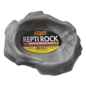 Zoo Med Repti Rock Water Dish Medium For Reptiles Lizards