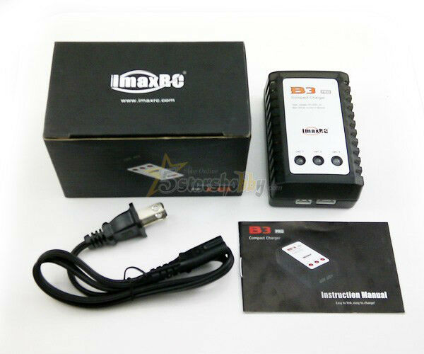 IMAX B3 Charger 7.4V 11.1V LiPo Battery Balance Charger for RC Model
