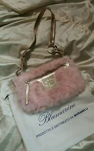 Blumarine-blu-girl-borsa-pouch-hand-bag-col-rosa-pink-cm-25-x-cm-12-con-dustbag