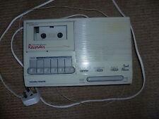 Vintage retro digital alarm radio tape recorder Morphy Richards
