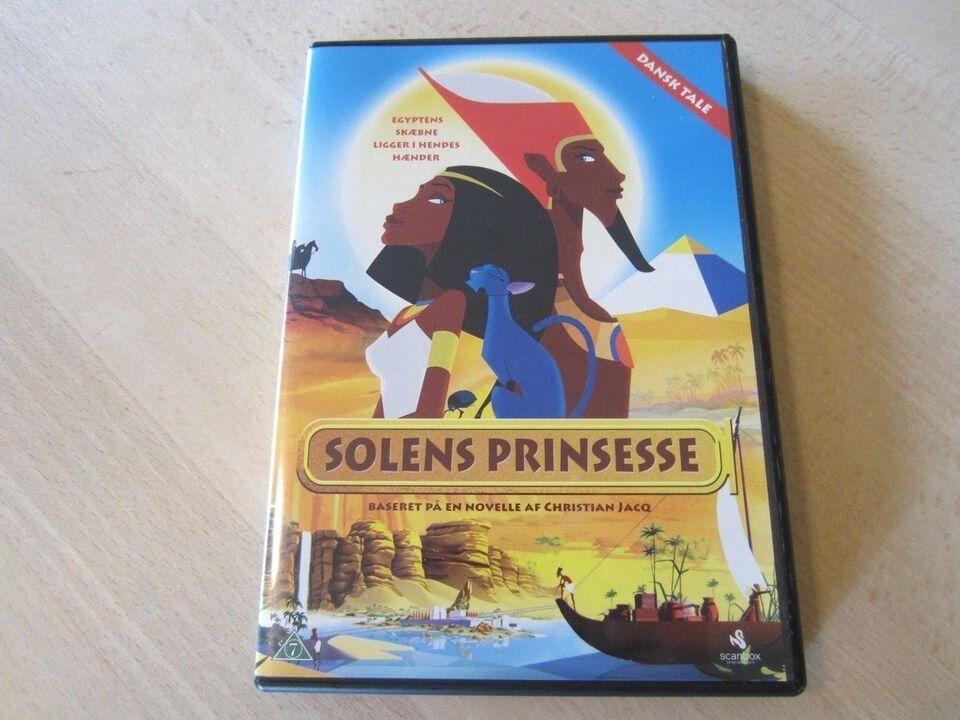 Solens Prinsesse, DVD, tegnefilm