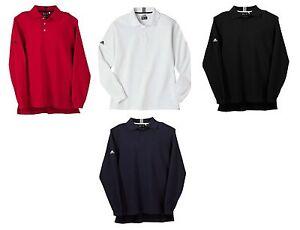 ADIDAS-GOLF-Climalite-LONG-SLEEVE-Reflex-Polo-Shirt-Mens-SIZE-S-M-XL-2XL-3XL