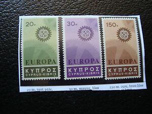 Zypern-Briefmarke-Yvert-Und-Tellier-N-284-A-286-N-A22-Briefmarke-Cyprus