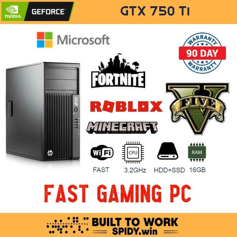 FAST Gaming PC | Win10 | 16GB | SSD+HDD | WiFi | FAST | Xeon | GTX750Ti     S9