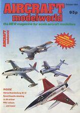 AIRCRAFT MODEL WORLD MAGAZINE 1984 OCT HANSA-BRANDENBURG W.12, SCOUT/GAZELLE