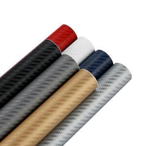 3D-Selbstklebend-Carbon-Folie-Auto-KFZ-LKW-Klebe-Folie-Glanz-Matt-Film-WYS