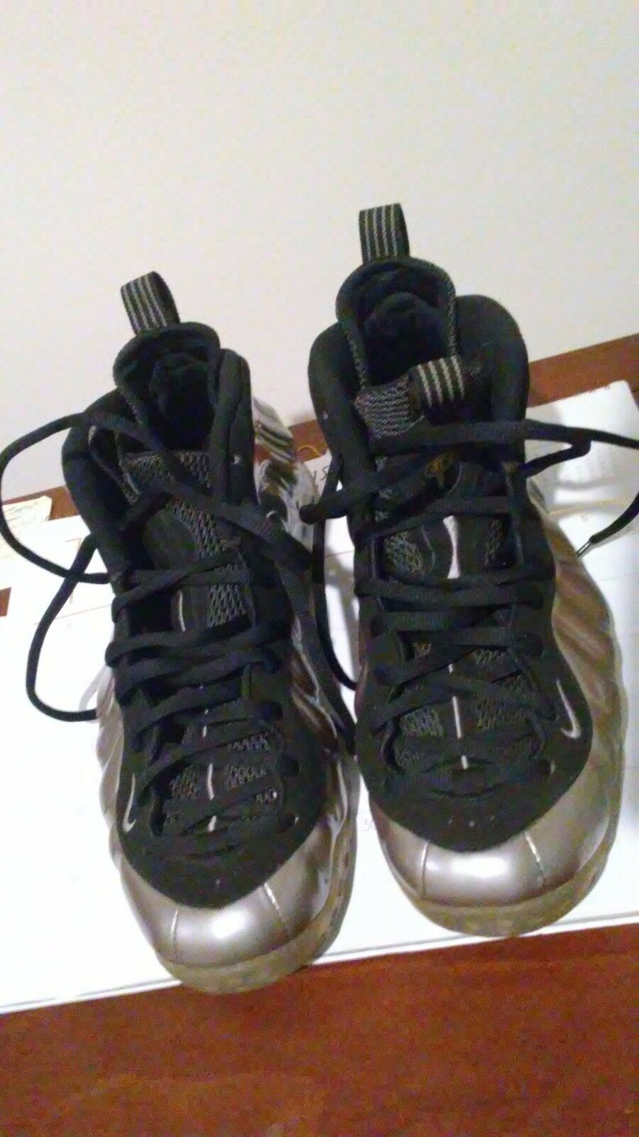 OG Authentic Nike Foamposite Pewter Size 11, clean, one day shipping