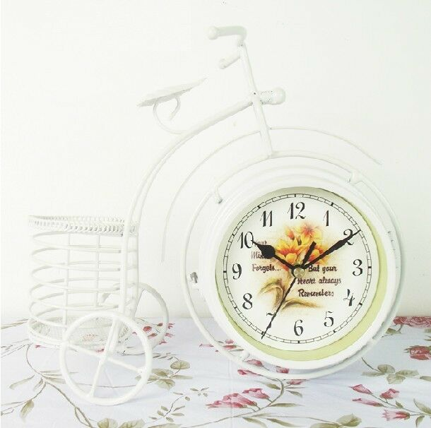 European D21 Modern Glass A Clock Table Decoration Mute 27CM ...