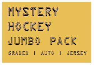 MYSTERY HOCKEY JUMBO PACK / CARDS | Graded Auto #'d & Jersey Hits | $90-$200 BV