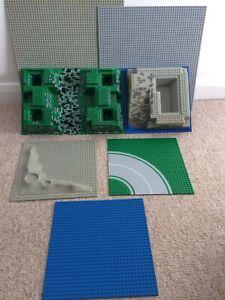 Plateaux Vintage Lego Base X 7
